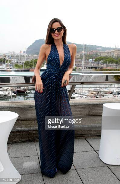 Ariadne Artiles attends the #MBMJSUNNIES Marc by Marc Jacobs Eyewear at the Museum of History of Catalonia on May 28 2014 in Barcelona Spain