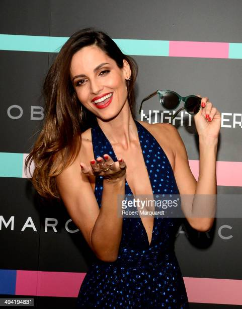 Ariadne Artiles attends the #MBMJSUNNIES Marc by Marc Jacobs Eyewear party at the Museo de Historia de Catalunya on May 28 2014 in Barcelona Spain
