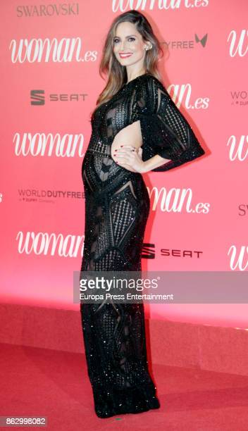 Ariadne Artiles attends the 'Woman 25th anniversary' photocall at Madrid Casino on October 18 2017 in Madrid Spain