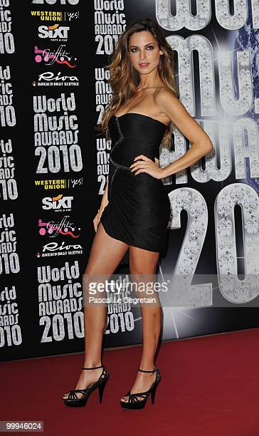 Ariadne Artiles attends the World Music Awards 2010 at the Sporting Club on May 18 2010 in Monte Carlo Monaco