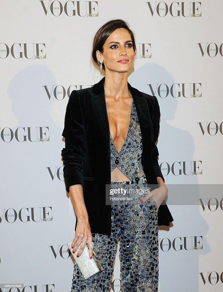 Ariadne Artiles attends Vogue Joyas 2013 Awards at the Palacio de la Bolsa on December 11, 2013 in Madrid, Spain.
