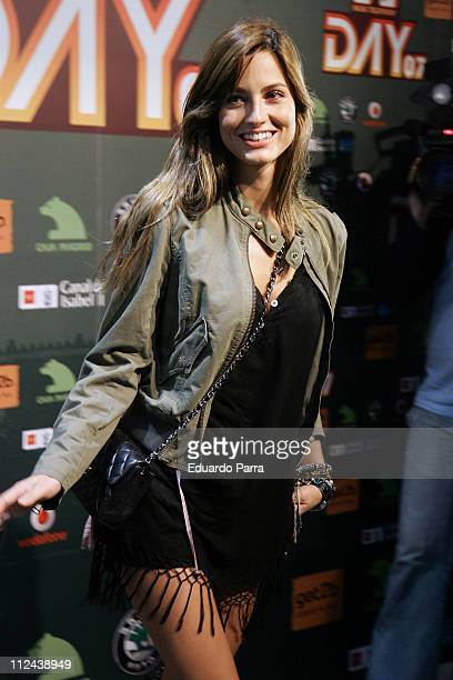 Ariadne Artiles during MTV Day Concert Photo Call at Las Ventas Bull Ring in Madrid Spain
