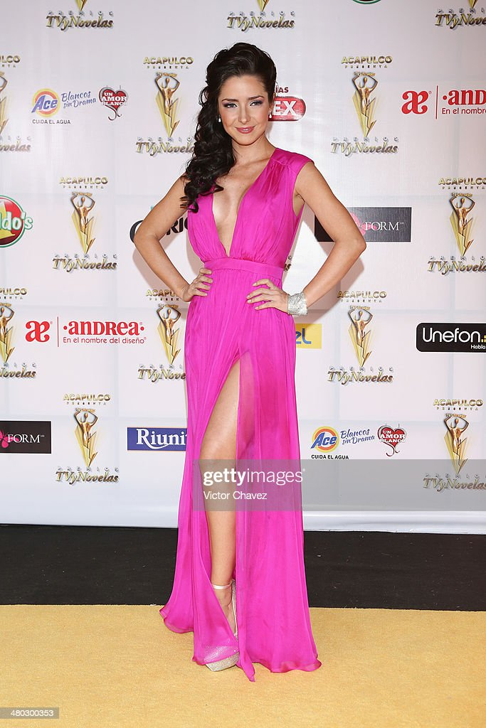 Ariadne Díaz attends the Premios Tv y Novelas 2014 at Televisa Santa Fe on March 23, 2014 in Mexico City, Mexico.