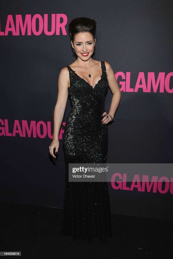 Ariadne Diaz attends the Glamour Magazine 15th Anniversary at Casino Del Bosque on October 10, 2013 in Mexico City, Mexico.