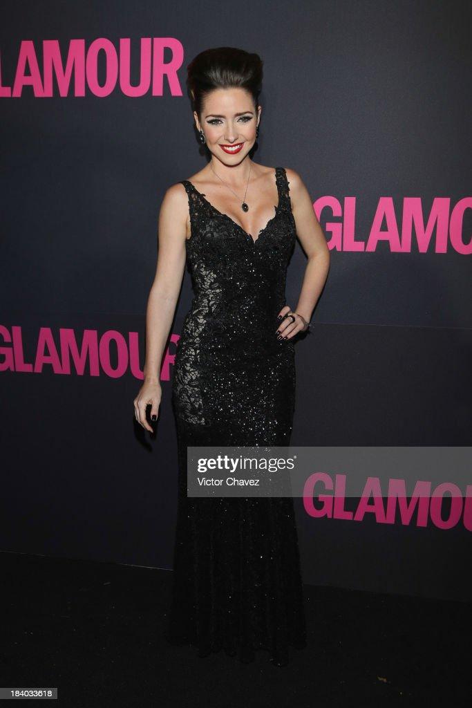 Ariadne Diaz attends the Glamour Magazine 15th Anniversary at Casino Del Bosque on October 10, 2013 in Mexico City, Mexico.