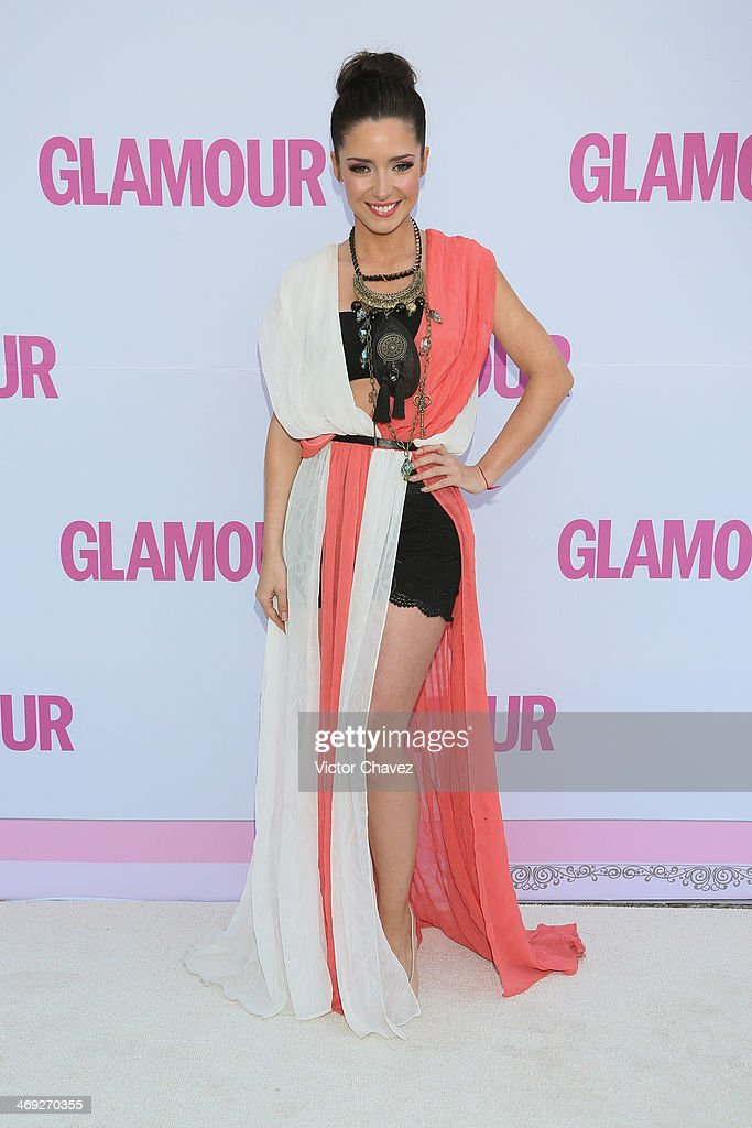 Ariadne Diaz attends the Glamour Magazine Mexico Beauty Awards 2013 at Museo Rufino Tamayo on February 13, 2014 in Mexico City, Mexico.