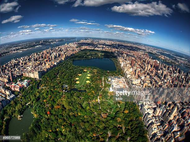 Arial view of Central Park