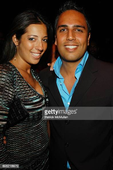 Ariana Gordon and Shane Neman attend Joonbug hosts the launch of GoTrumpcom sponsored by Blue Star Jets at Marquee NYC USA on January 24 2006