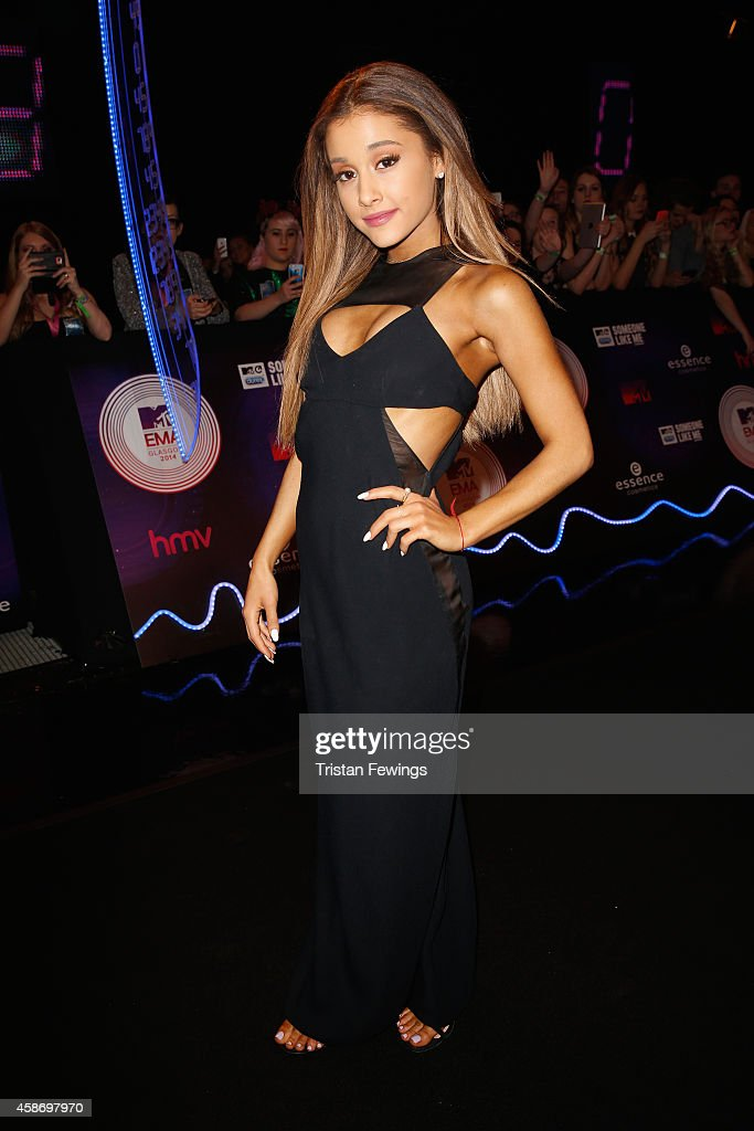 Ariana Grande attends the MTV EMA's 2014 at The Hydro on November 9 2014 in Glasgow Scotland