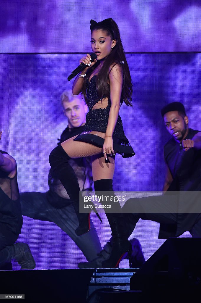 Ariana grande in concert new york new york getty images - Ariana grande concert madison square garden ...