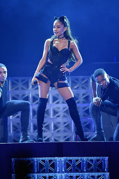 Ariana grande in concert new york new york photos and - Ariana grande concert madison square garden ...
