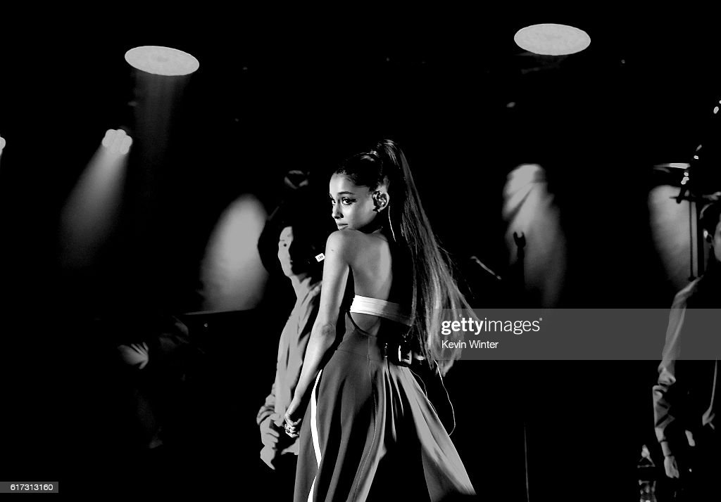 Ariana Grande performs onstage during CBS RADIO's fourth annual We Can Survive concert at the Hollywood Bowl on October 22, 2016 in Hollywood, California.