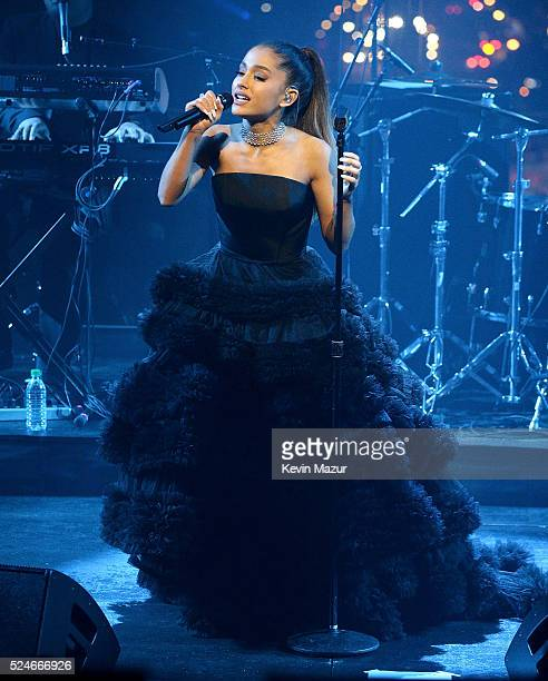 Ariana Grande performs onstage during the 2016 Time 100 Gala Time's Most Influential People In The World at Jazz At Lincoln Center at the Time Warner...