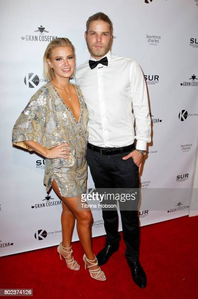 Ariana Madix and Jeremy Madix attend Kyle Chan's 3rd annual #LOVECAMPAIGN Party at SUR Lounge on June 27 2017 in Los Angeles California