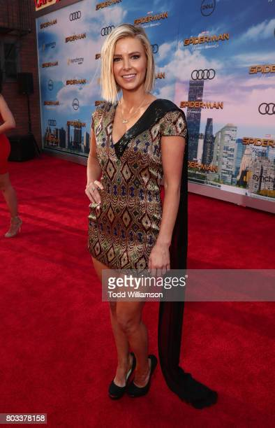 Ariana Madix attends the premiere of Columbia Pictures' 'SpiderMan Homecoming' at TCL Chinese Theatre on June 28 2017 in Hollywood California