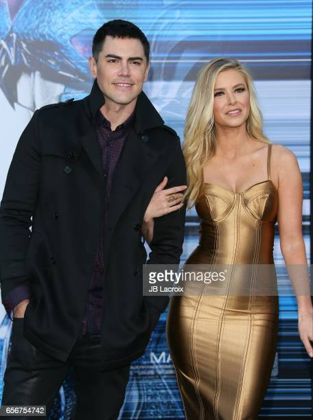 Ariana Madix attends the premiere of Lionsgate's 'Power Rangers' on March 22 2017 in Westwood California