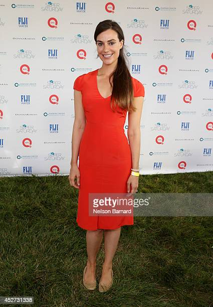 Ariana Rockefeller attends QVC Presents Super Saturday LIVE on July 26 2014 in Water Mill City