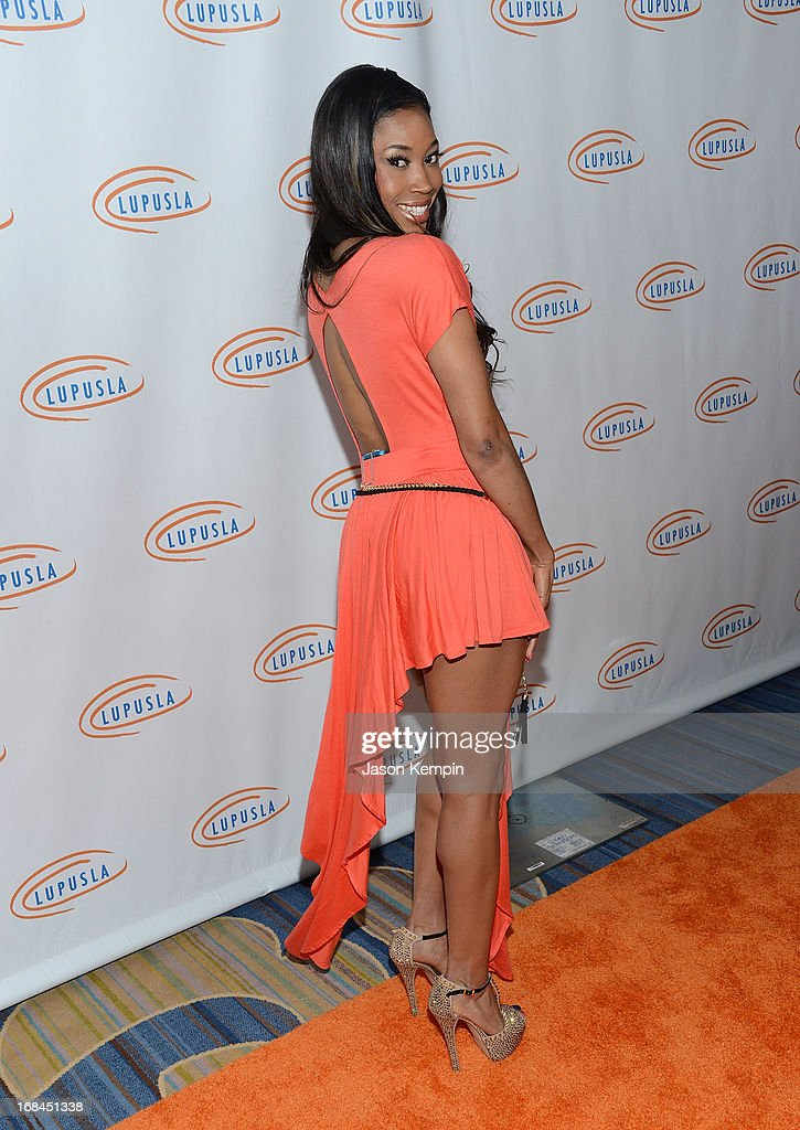 Ariane Andrew attends the 13th Annual Lupus LA Orange Ball at the Beverly Wilshire Four Seasons Hotel on May 9, 2013 in Beverly Hills, California.