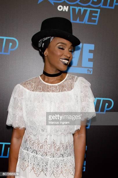 Ariane Davis attends 'Bossip On WE' Atlanta launch celebration at Elevate at W Atlanta Midtown on June 27 2017 in Atlanta Georgia