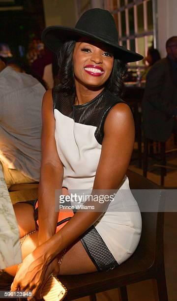 Ariane Davis attends Celebrating 25 Years Boyz N The Hood on August 23 2016 in Atlanta Georgia