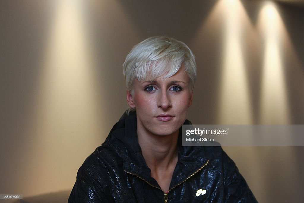 <a gi-track='captionPersonalityLinkClicked' href=/galleries/search?phrase=Ariane+Friedrich&family=editorial&specificpeople=2507867 ng-click='$event.stopPropagation()'>Ariane Friedrich</a> of Germany poses for a portrait after the DKB-ISTAF Iaaf Golden League meeting at the Olympiastadion on June 14, 2009 in Berlin, Germany.
