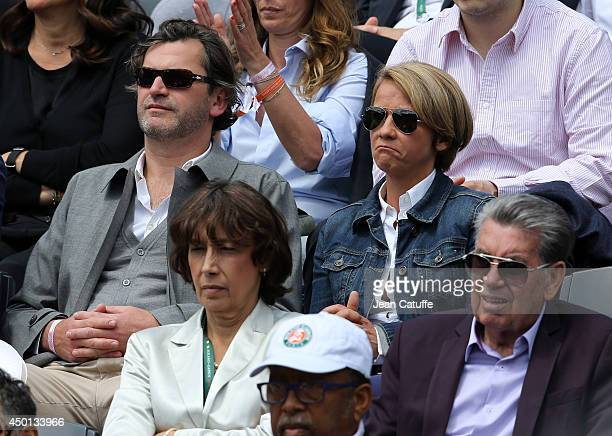 Ariane Massenet attends Day 12 of the French Open 2014 held at RolandGarros stadium on June 5 2014 in Paris France