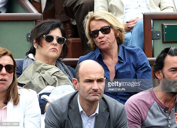 Ariane Massenet attends day 5 of the 2016 French Open held at RolandGarros stadium on May 26 2016 in Paris France