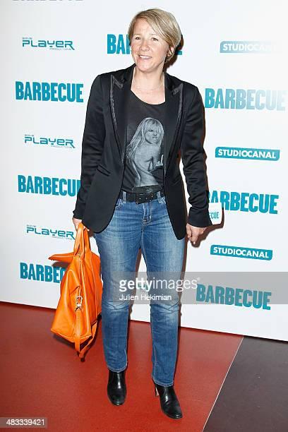 Ariane Massenet attends the 'Barbecue' Premiere at Cinema Gaumont Capucine on April 7 2014 in Paris France