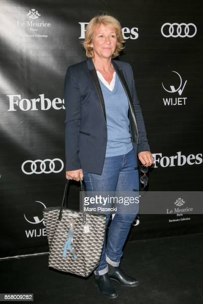 Ariane Massenet attends the launch of 'Forbes Magazine' France at Hotel Meurice on October 5 2017 in Paris France