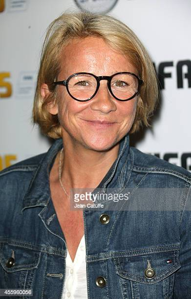 Ariane Massenet attends the new video game 'Fifa 15' party held at l'Opera restaurant on September 22 2014 in Paris France