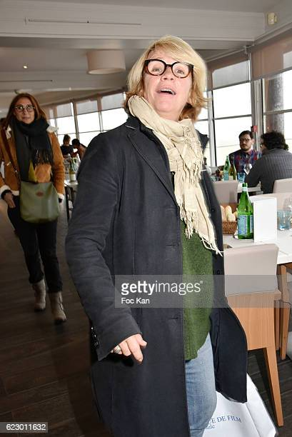 Ariane Massenet attends the theÊLunch at the Hermitage Plage Restaurant l as part of 'Cinema Et Musique De Film 2016' 3rd Festival At La Baule Day...