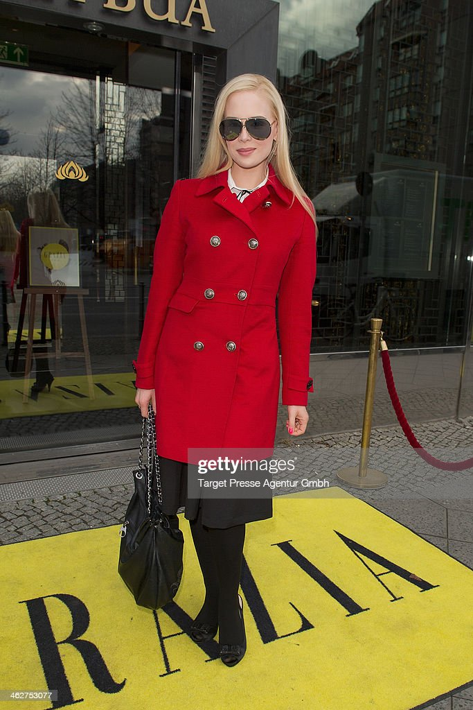 Ariane Sommer attends the Grazia Pop Up during Mercedes-Benz Fashion Week Autumn/Winter 2014/15 at Sra Bua Restaurant on January 15, 2014 in Berlin, Germany.