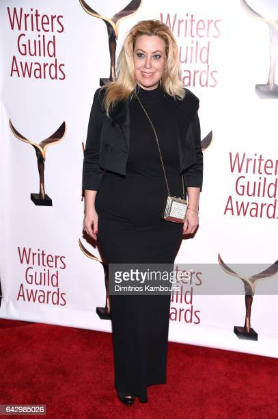 Ariane Von Kamp attends 69th Writers Guild Awards New York Ceremony at Edison Ballroom on February 19 2017 in New York City