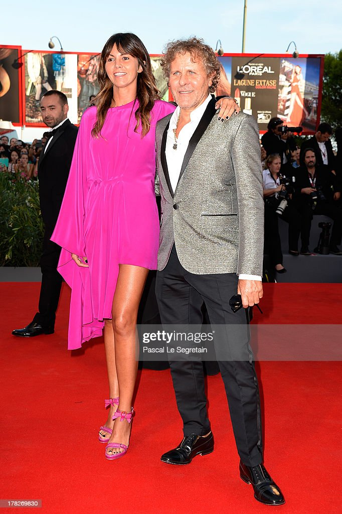 Arianna Alessi and Renzo Rosso attend the Opening Ceremony And 'Gravity' Premiere during the 70th Venice International Film Festival at the Palazzo del Cinema on August 28, 2013 in Venice, Italy.