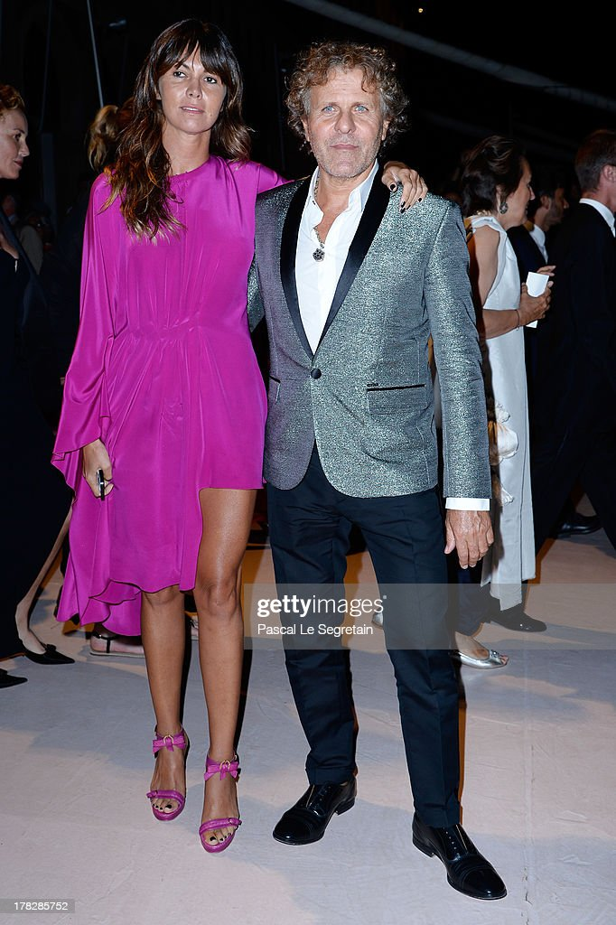 Arianna Alessi and Renzo Rosso attend the Opening Dinner Arrivals during the 70th Venice International Film Festival at the Hotel Excelsior on August 28, 2013 in Venice, Italy.