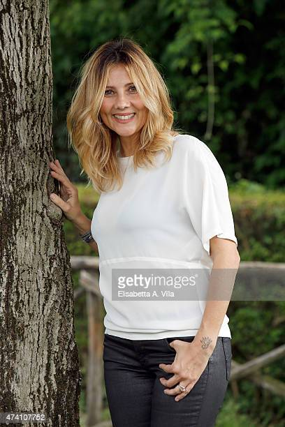 Arianna Ciampoli attends 'Mezzogiorno Italiano' Tv Show photocall at RAI on May 20 2015 in Rome Italy