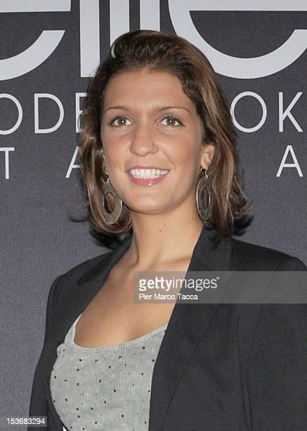 Arianna Errigo attends 2012 Elite model look Italia photocall on October 8 2012 in Milan Italy