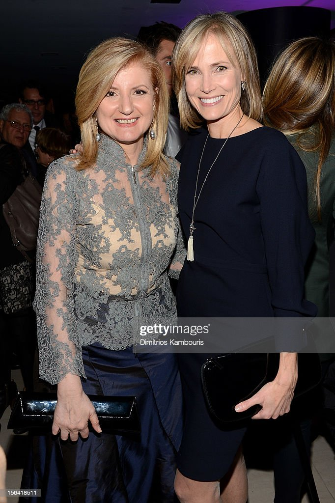 <a gi-track='captionPersonalityLinkClicked' href=/galleries/search?phrase=Arianna+Huffington&family=editorial&specificpeople=204730 ng-click='$event.stopPropagation()'>Arianna Huffington</a> and Television Journalist <a gi-track='captionPersonalityLinkClicked' href=/galleries/search?phrase=Willow+Bay&family=editorial&specificpeople=585760 ng-click='$event.stopPropagation()'>Willow Bay</a> attend Barneys New York And Disney Electric Holiday Window Unveiling Hosted By Sarah Jessica Parker, Bob Iger, And Mark Lee on November 14, 2012 in New York City.