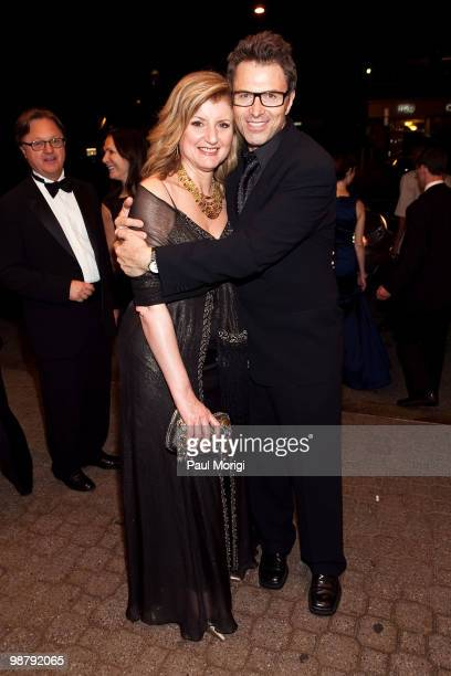 Arianna Huffington and Tim Daly attend Jason Binn's Niche Media's WHCAD after party with Bing at the Renaissance Washington DC Hotel on May 1 2010 in...