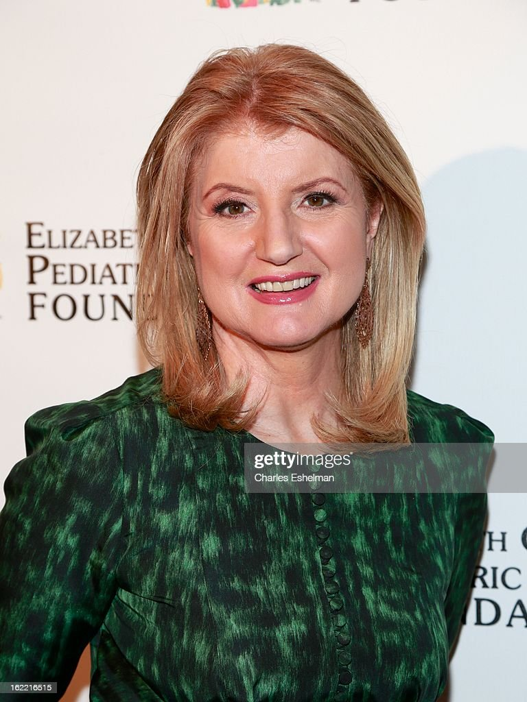 Arianna Huffington attends the 2013 Elizabeth Glaser Pediatric AIDS Foundation awards dinner at Mandarin Oriental Hotel on February 20, 2013 in New York City.