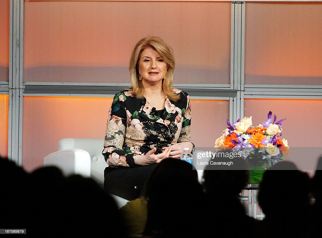 Arianna Huffington attends the 2013 Spark. Ignite Your Network conference at the Sheraton New York Hotel & Towers on April 26, 2013 in New York City.