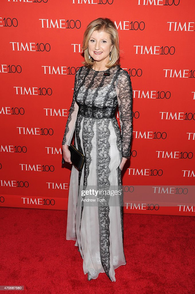 <a gi-track='captionPersonalityLinkClicked' href=/galleries/search?phrase=Arianna+Huffington&family=editorial&specificpeople=204730 ng-click='$event.stopPropagation()'>Arianna Huffington</a> attends the 2015 Time 100 Gala at Frederick P. Rose Hall, Jazz at Lincoln Center on April 21, 2015 in New York City.