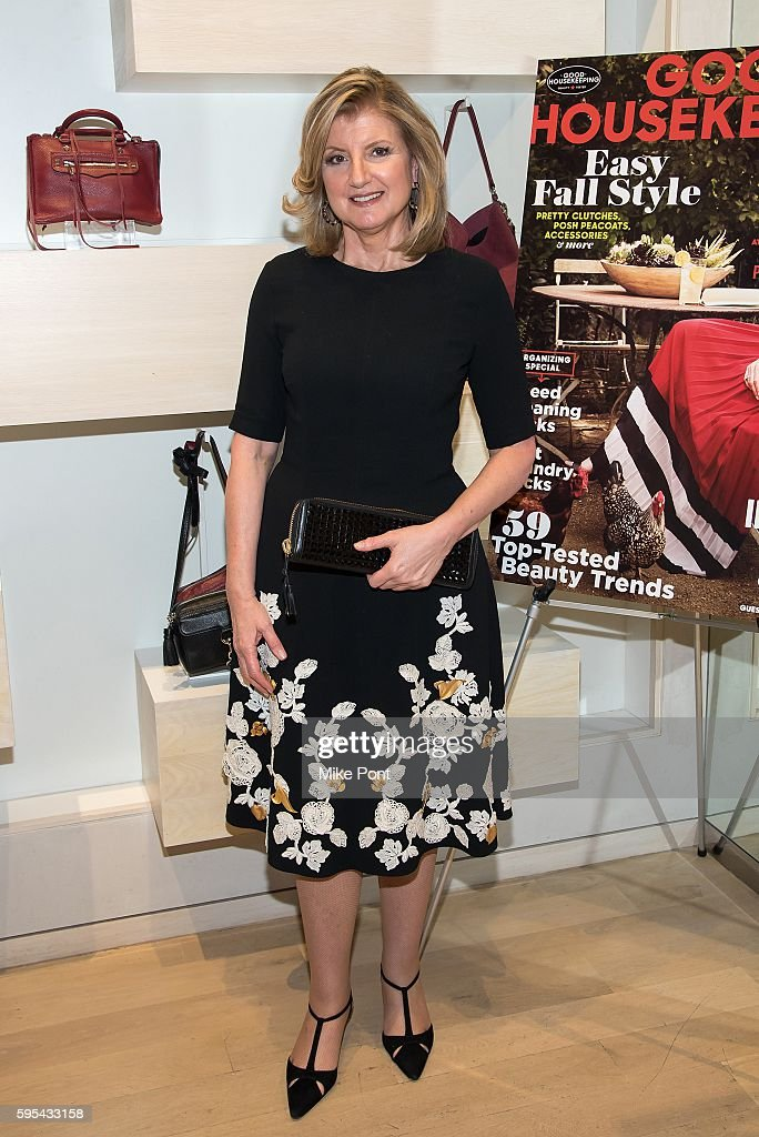 Arianna Huffington attends the 2016 Good Housekeeping Awesome Women Awards Cocktail Celebration at Rebecca Minkoff on August 25, 2016 in New York City.