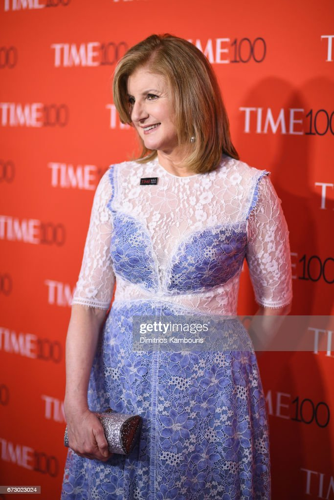 Arianna Huffington attends the 2017 Time 100 Gala at Jazz at Lincoln Center on April 25, 2017 in New York City.