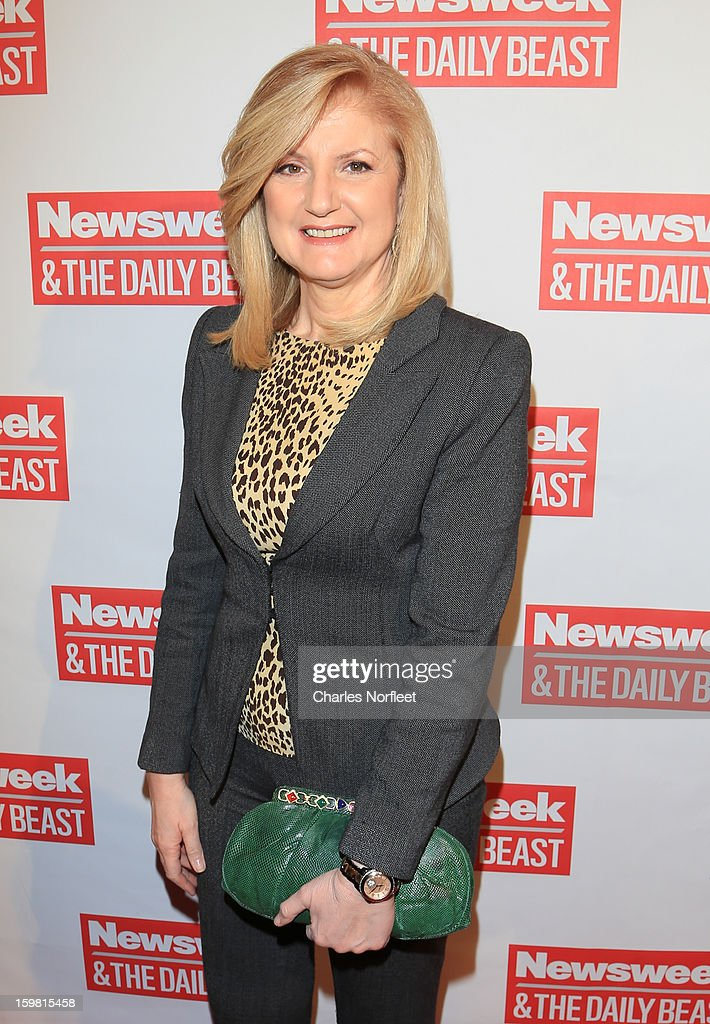 Arianna Huffington attends The Daily Beast Bi-Partisan Inauguration Brunch at Cafe Milano on January 20, 2013 in Washington, DC.