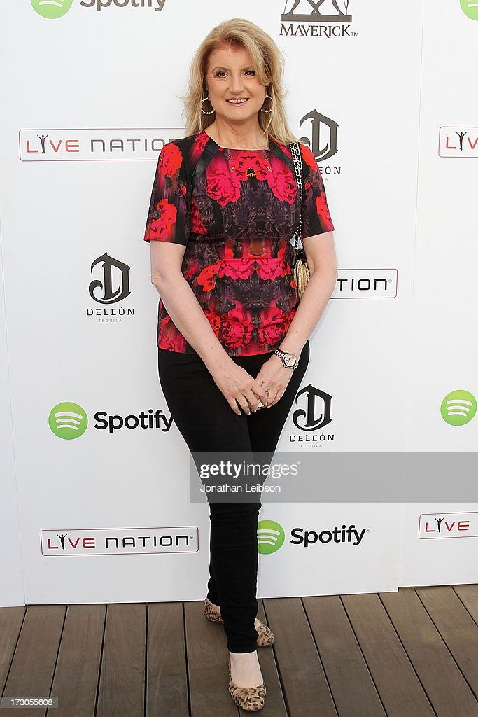 <a gi-track='captionPersonalityLinkClicked' href=/galleries/search?phrase=Arianna+Huffington&family=editorial&specificpeople=204730 ng-click='$event.stopPropagation()'>Arianna Huffington</a> attends the Guy Oseary's July 4th event in Malibu presented by Spotify and Live Nation with DeLeon and VitaCoco at Nobu Malibu on July 4, 2013 in Malibu, California.