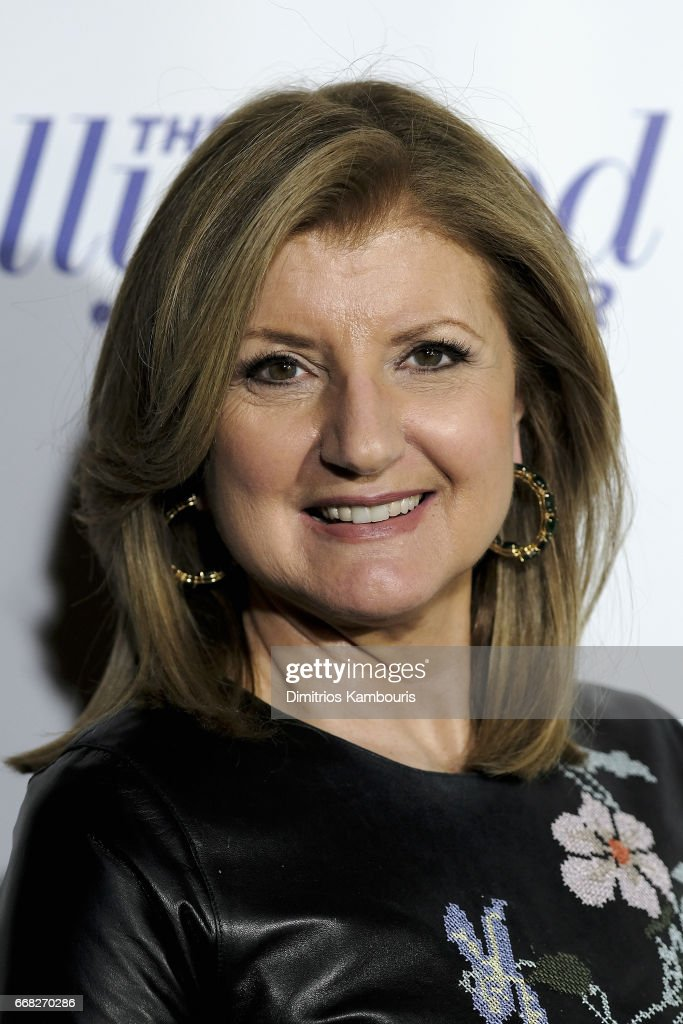 Arianna Huffington attends The Hollywood Reporter 35 Most Powerful People In Media 2017 at The Pool on April 13, 2017 in New York City.