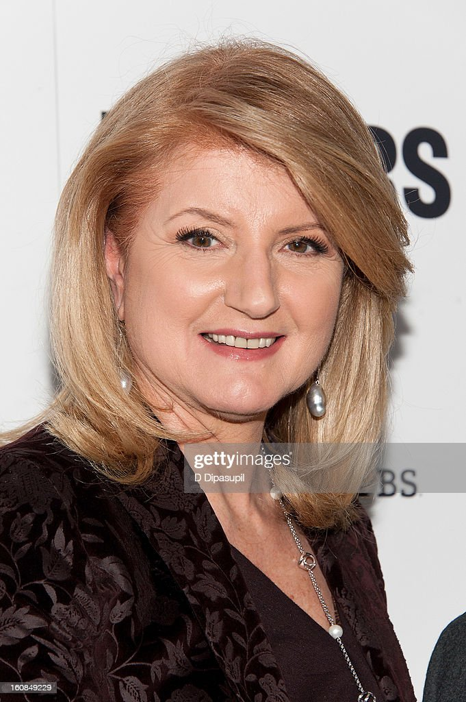 Arianna Huffington attends the 'MAKERS: Women Who Make America' New York Premiere at Alice Tully Hall on February 6, 2013 in New York City.