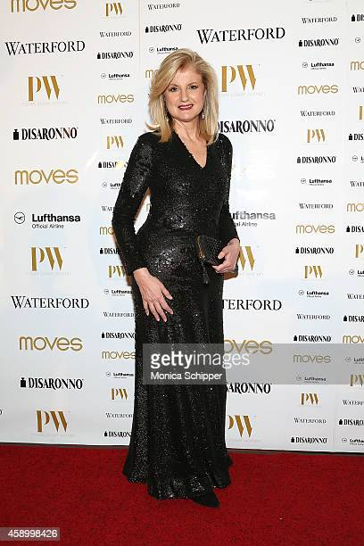 Arianna Huffington attends the Moves 2014 Power Women Gala at India House Club on November 14 2014 in New York City