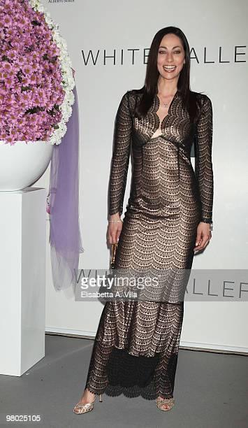 Arianna Marchetti attends 'L'Arte Nell'Uovo Di Pasqua' Charity Event at the White Gallery on March 24 2010 in Rome Italy
